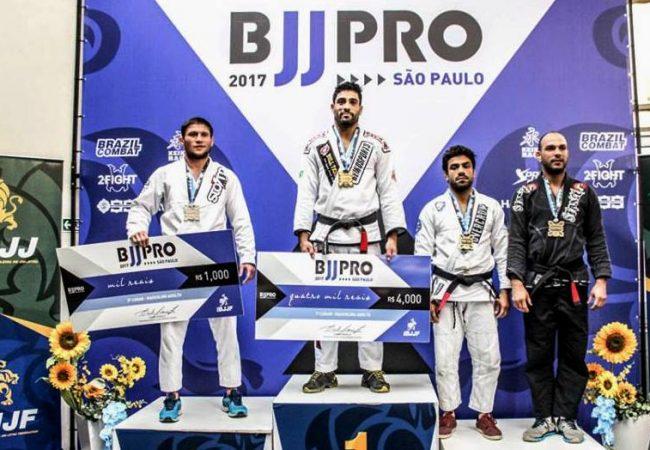 Jiu-Jitsu: Confira os vencedores do São Paulo BJJ Pro 2017