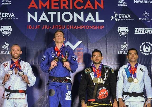 Keenan Cornelius e Bia Mesquita faturam ouro duplo no Campeonato Americano de Jiu-Jitsu