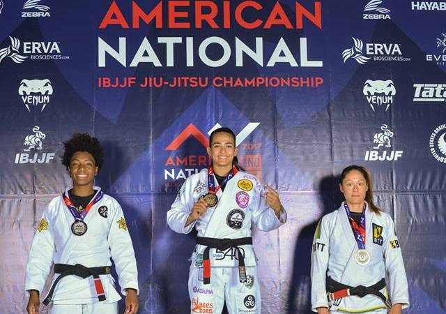 BJJ: Bia Mesquita's swift choke at the American Nationals