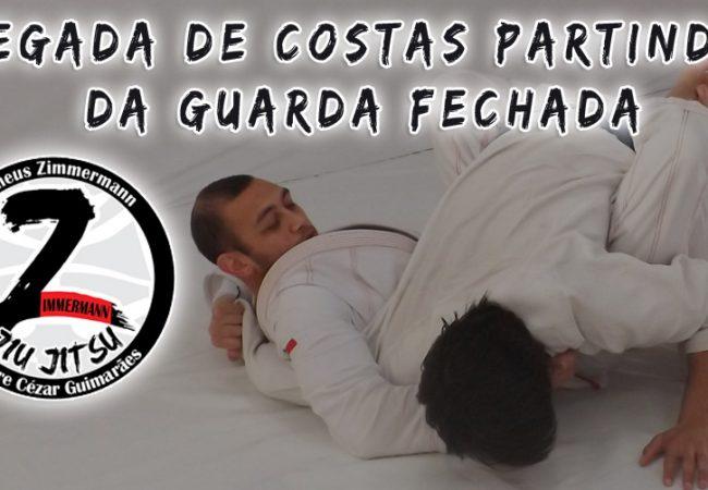 Jiu-Jitsu: Pegue as costas da guarda fechada na transição de Matheus Zimmermann