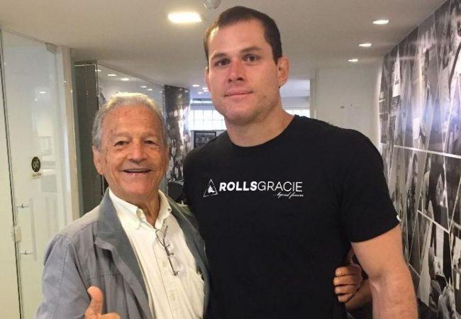 A superluta de Jiu-Jitsu Marcus Buchecha x Roger Gracie já começou no RJ
