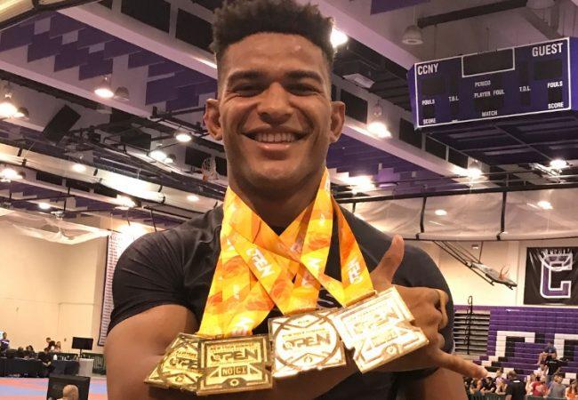 Mahamed Aly fatura quatro ouros no New York Open de Jiu-Jitsu