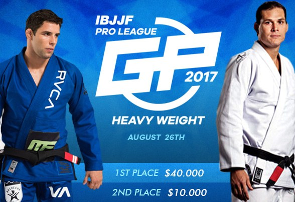 8th and final name announced for IBJJF Pro League