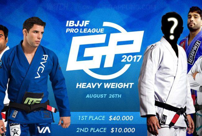 Com a saída de Roger Gracie, quem deve entrar no GP de Pesados da IBJJF?