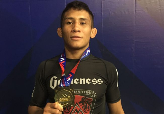 Following double gold at American Nationals, Lucas Pinheiro seeks Five Grappling title