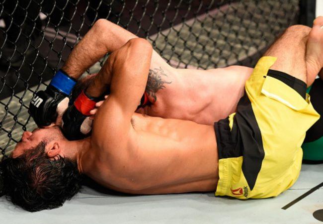 Jiu-Jitsu: Reveja o mata-leão de Alexandre Pantoja no UFC Glasgow