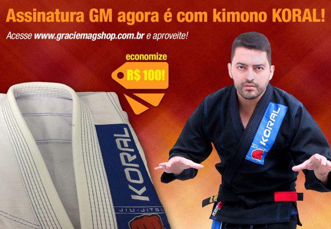 Assine a GM e receba um kimono KORAL