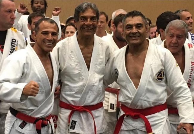 Video: Rickson Gracie promoted to red-belt