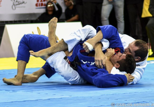 In historic match, Roger Gracie takes the back and finishes Marcus Buchecha at Gracie Pro Jiu-Jitsu