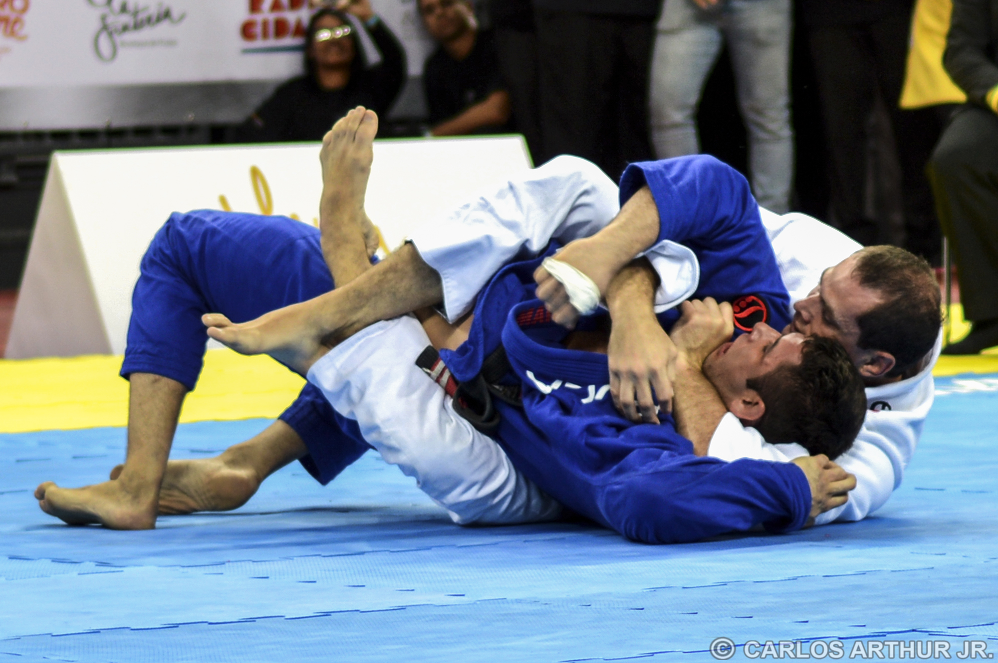 In Historic Match Roger Gracie Takes The Back And