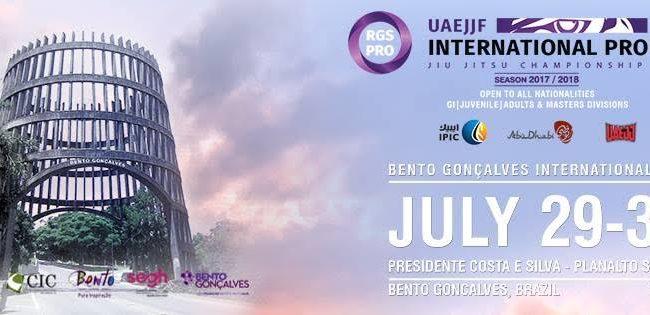 Jiu-Jitsu: Bento Gonçalves International Pro da UAEJJF agita o sul do Brasil neste fim de semana