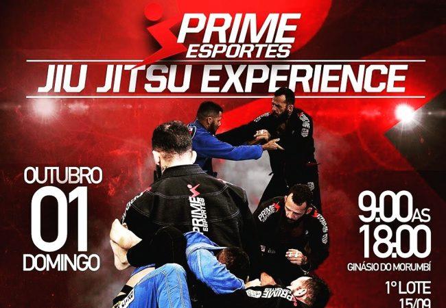 Inscreva-se com desconto na Prime Esportes Jiu-Jitsu Experience, em São Paulo