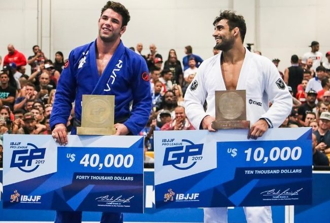 Marcus Buchecha vence Leandro Lo na final do IBJJF Pro League de Jiu-Jitsu