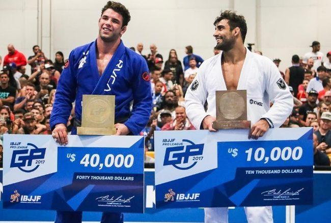 Marcus Buchecha beats Leandro Lo in IBJJF Pro League final