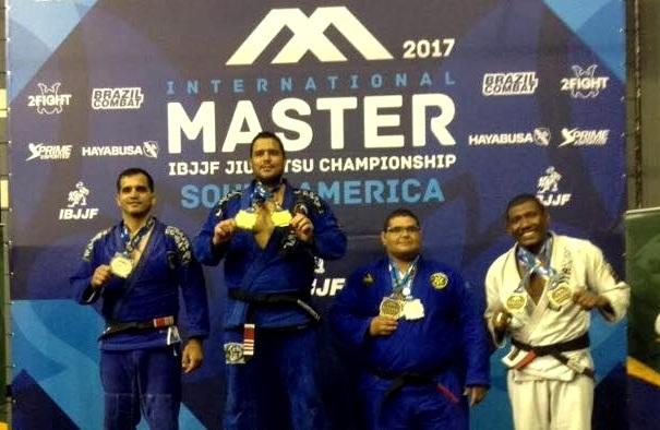 Jiu-Jitsu: Ouro duplo no Internacional Master, Thiago Gaia projeta sucesso no Mundial