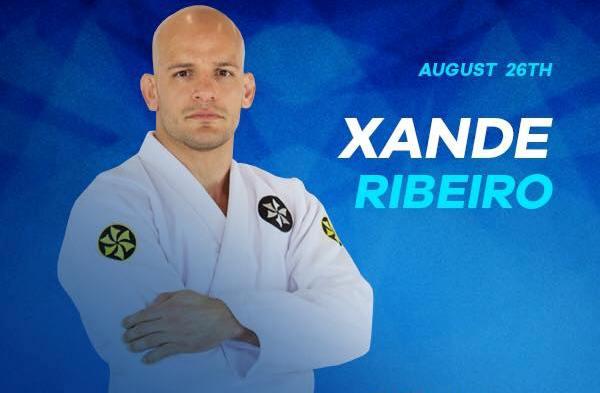 Xande Ribeiro é convidado de última hora do IBJJF Pro League de Jiu-Jitsu; entenda