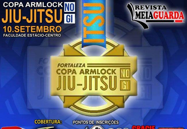 Último dia para se inscrever na Copa Armlock de Jiu-Jitsu, em Fortaleza