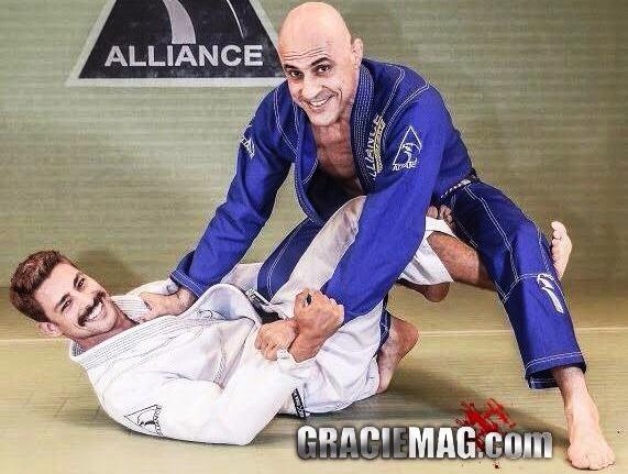 Vídeo: Cauã Reymond treinando Jiu-Jitsu com Alexandre Paiva na Alliance Rio