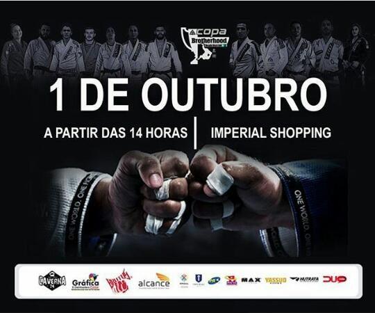 Saiba mais sobre a I Copa Brotherhood: Desafio Black Belt de Jiu-Jitsu