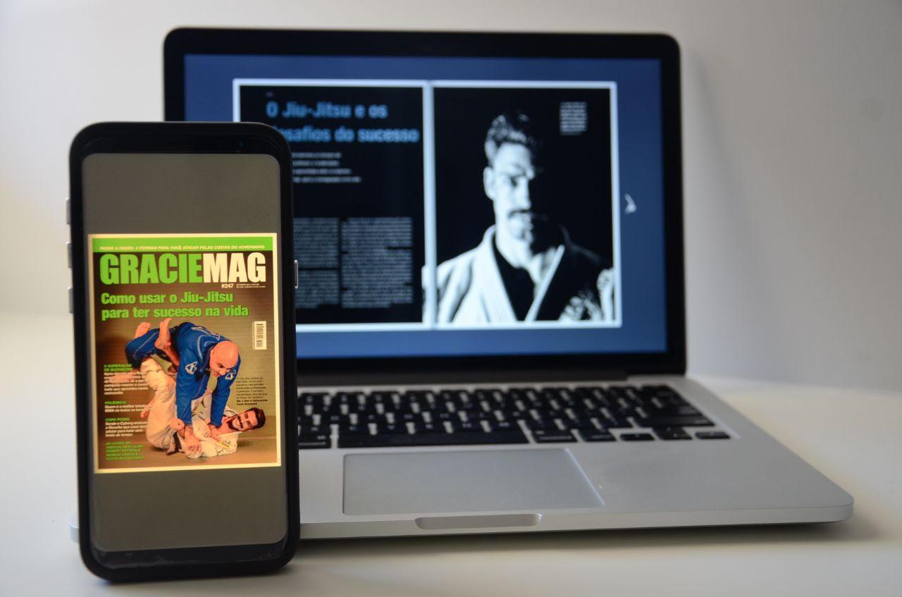 Nova revista digital GRACIEMAG