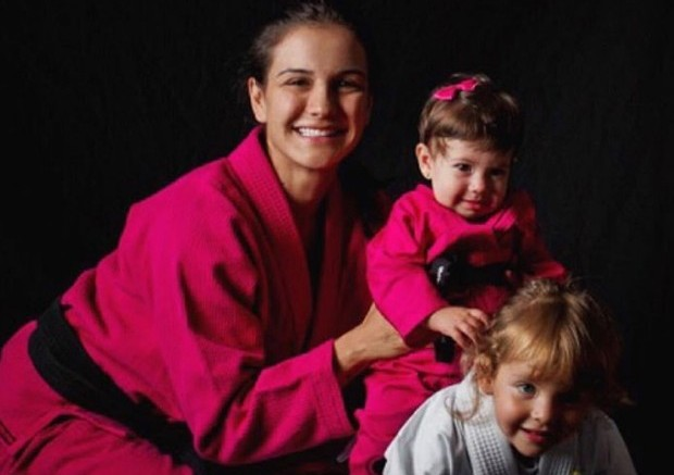 Jiu-Jitsu para crianças: as lições de Kyra Gracie para as filhas