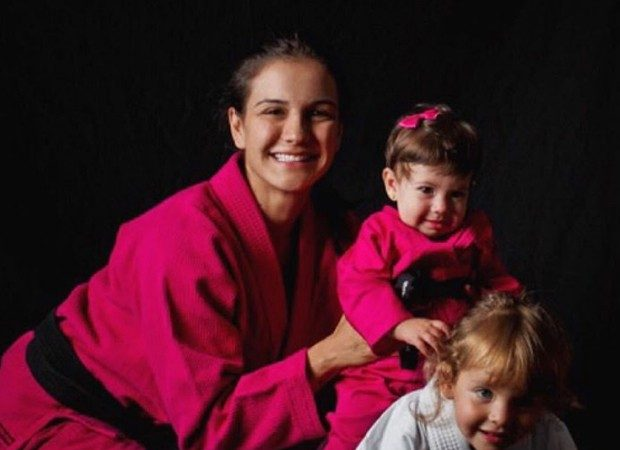 BJJ for kids: Kyra Gracie's lessons for her daughters