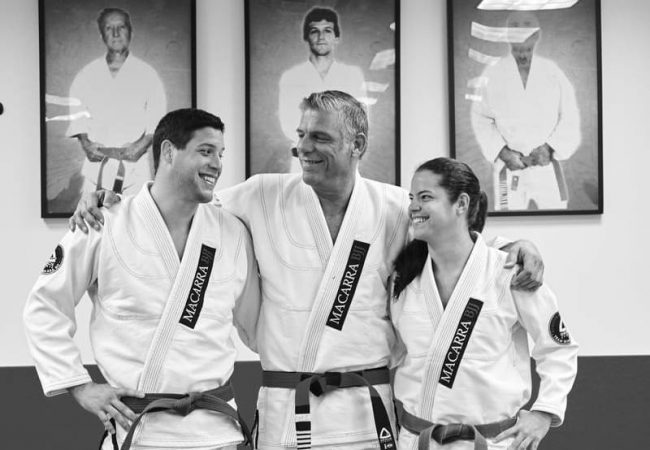 Video: Bellator's Neiman Gracie practices BJJ with black-belt sister