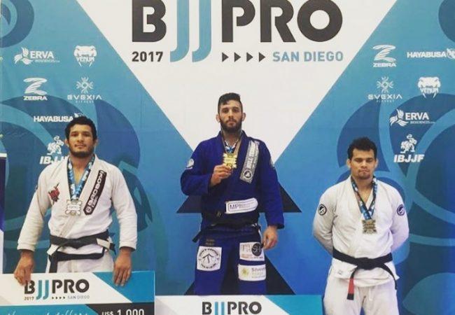 Confira a lista de campeões do San Diego BJJ Pro