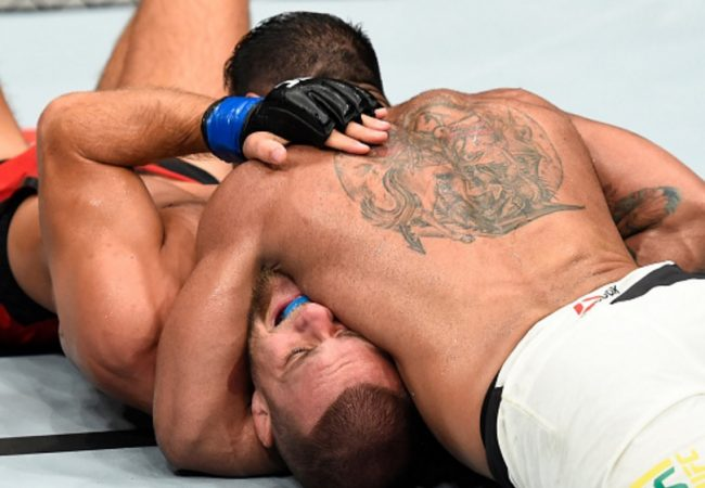 Jiu-Jitsu: O estrangulamento vencedor de Michel Trator no UFC Roterdã