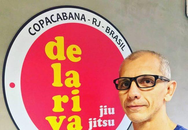 Ricardo de la Riva receberá faixa-coral de Jiu-Jitsu com seminário em Copacabana