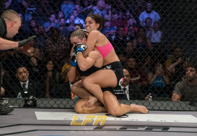Video: Mackenzie Dern gets a finish at LFA 24 to stay undefeated