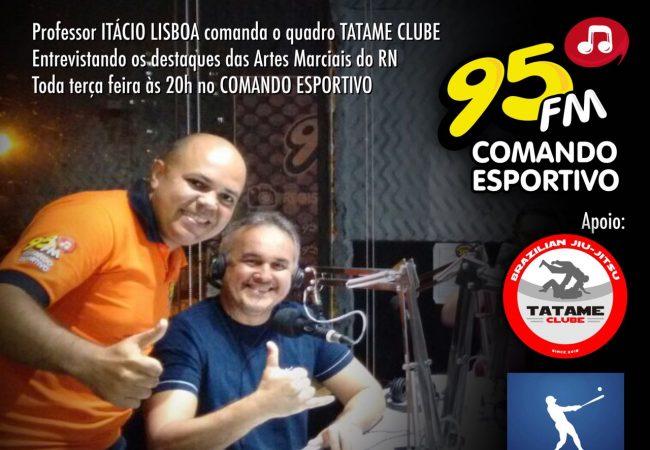 GMI: Itácio Lisboa fala dos benfícios do Jiu-Jitsu em programa de rádio