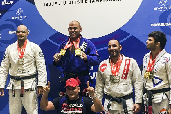 Roberto Cyborg shines at Miami Fall Open with double gold