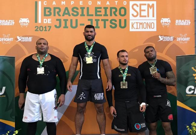 Brasileiro de Jiu-Jitsu Sem Kimono 2017: Confira os campeões do adulto faixa-preta