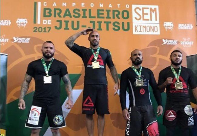 Brasileiro de Jiu-Jitsu Sem Kimono 2017: os campeões no master