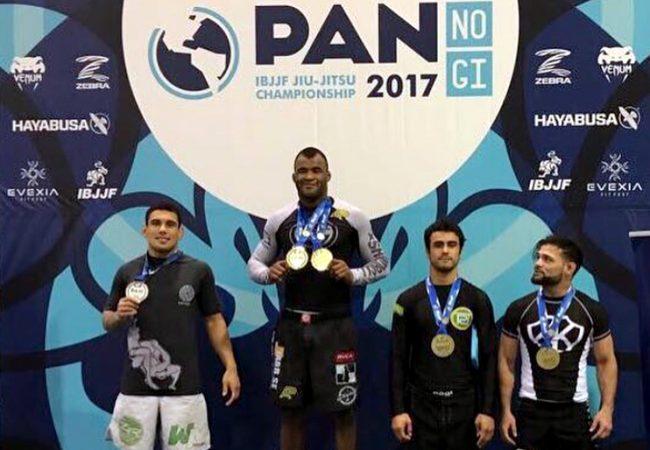 Jackson Sousa and Michelle Nicolini win double gold at No-Gi Pan