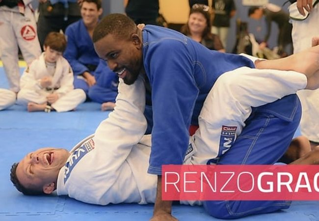 Renzo Gracie and the perfect grip