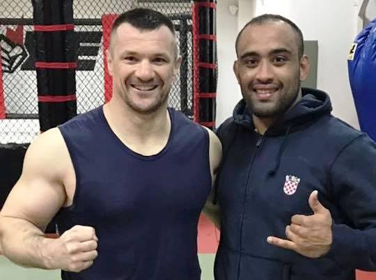 Veja Yuri Simões x Mirko Cro Cop em treininho solto de Jiu-Jitsu na Croácia