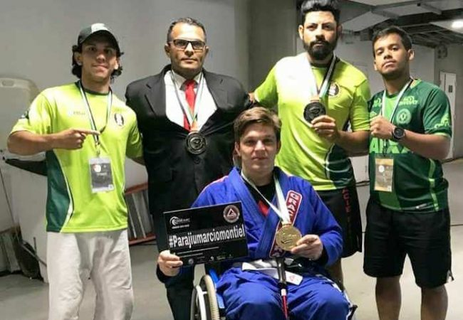 GMI Elcirley Silva e a chegada do ParaJiu-Jitsu no Abu Dhabi Grand Slam do Rio