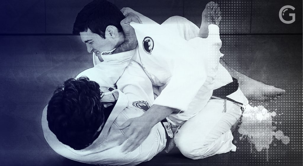 Cross Collar choke with Rolles Gracie at the Renzo Gracie Online Academy