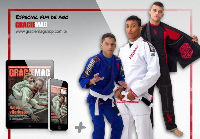 GM Digital com kimono Prime Esportes! Começe 2018 de armadura nova!