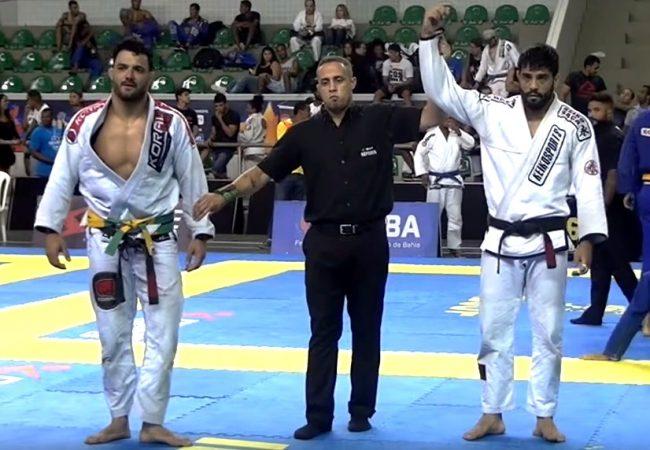 Jiu-Jitsu: Dimitrius Souza e seu armlock sorrateiro em Cássio Francis no Salvador Open