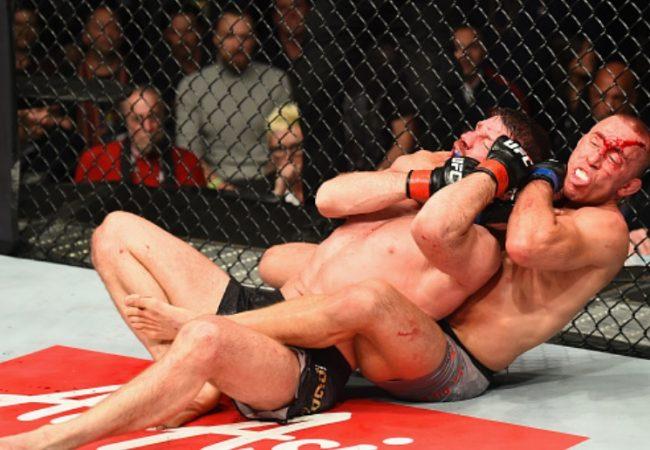 Jiu-Jitsu: Georges St-Pierre e o mata-leão que apagou Bisping no UFC 217