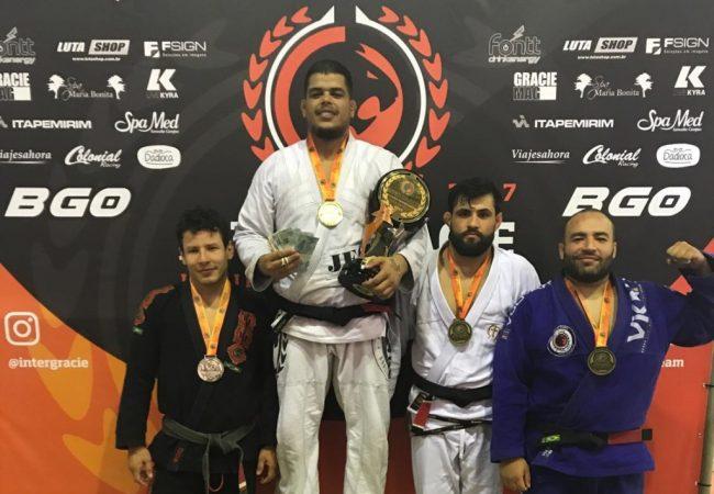 Nandão Fernandes fatura título do Ryan's Way Challenge; veja os resultados do 12° Inter Gracie