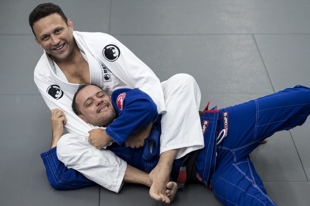 Renzo Gracie teaches how to achieve success in a choke