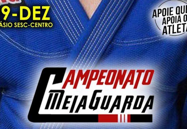 Campeonato Meiaguarda de Jiu-Jitsu encerra inscrições nesta quarta-feira