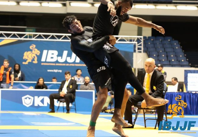 Lucas Hulk wins double gold at No-Gi Worlds