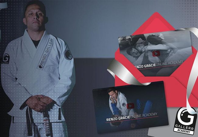 12 months of BJJ with Renzo Gracie!