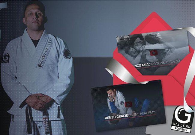 12 meses de Jiu-Jitsu com Renzo Gracie!