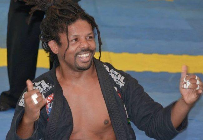 Renato Sousa, o Panda, árbitro da IBJJF e professor da GFTeam. Foto: Arquivos pessoais